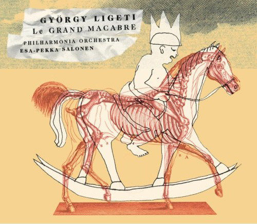 Ligeti - Philharmonia Orchestra, Esa-Pekka Salonen Le Grand Macabre Vinyl
