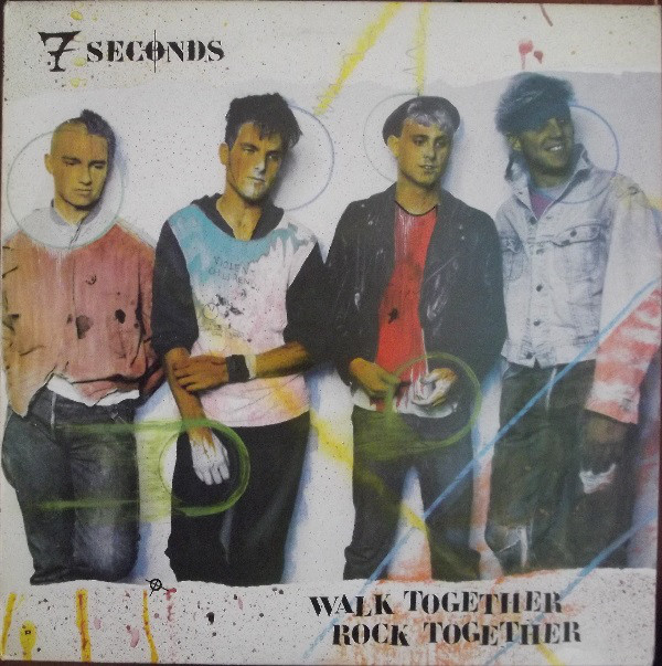 7 Seconds Walk Together Rock Together Vinyl