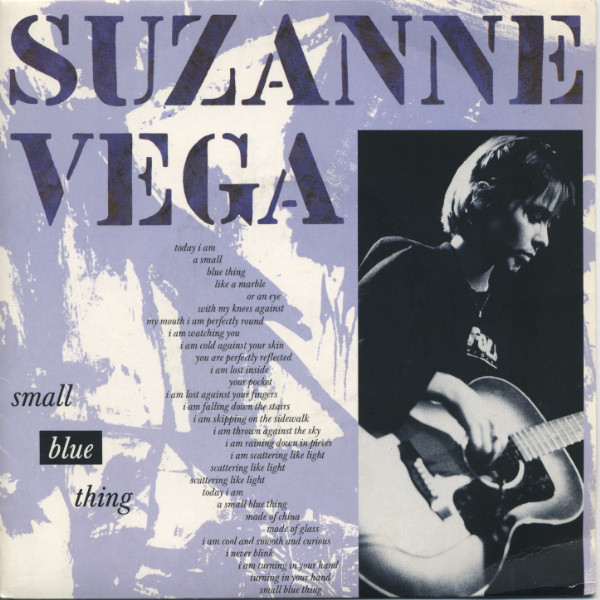 Vega, Suzanne Small Blue Thing Vinyl