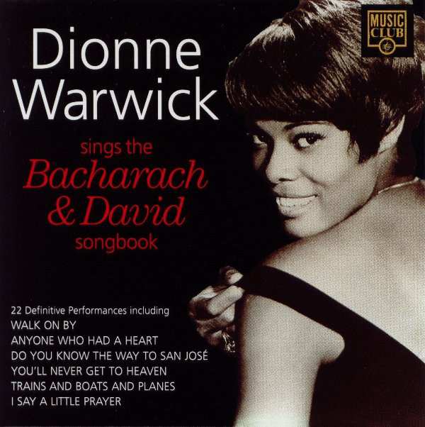 Warwick, Dionne Dionne Warwick Sings The Bacharach & David Songbook