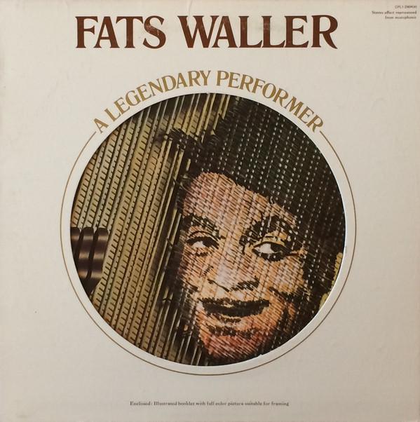 Waller, Fats A Legendary Performer Vinyl