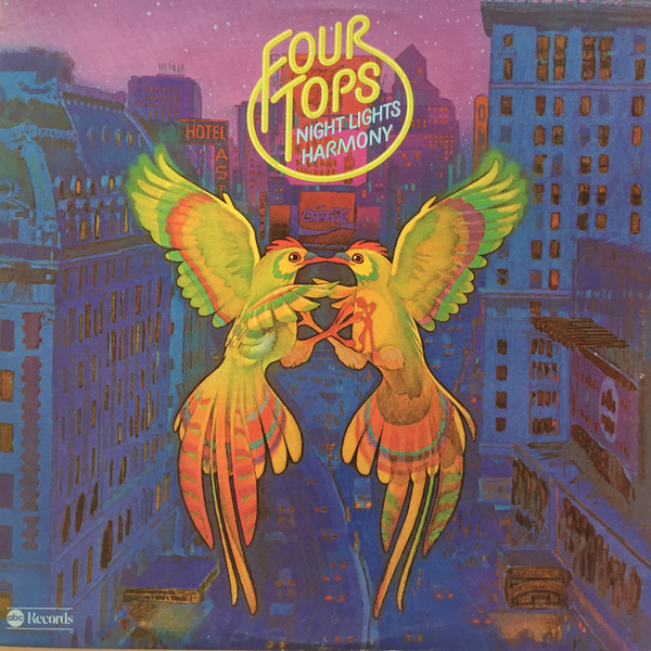 Four Tops Night Lights Harmony Vinyl