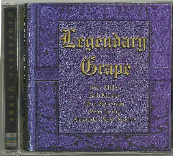 Legendary Grape Legendary Grape CD