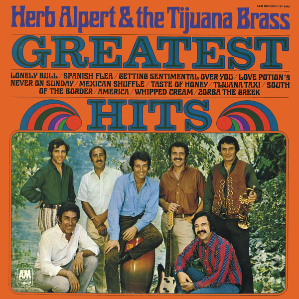 Herb Alpert & The Tijuana Brass Greatest Hits Vinyl