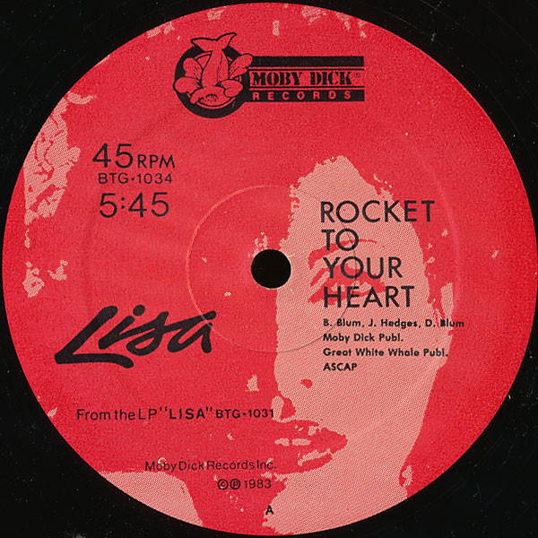 Lisa Rocket To Your Heart Vinyl