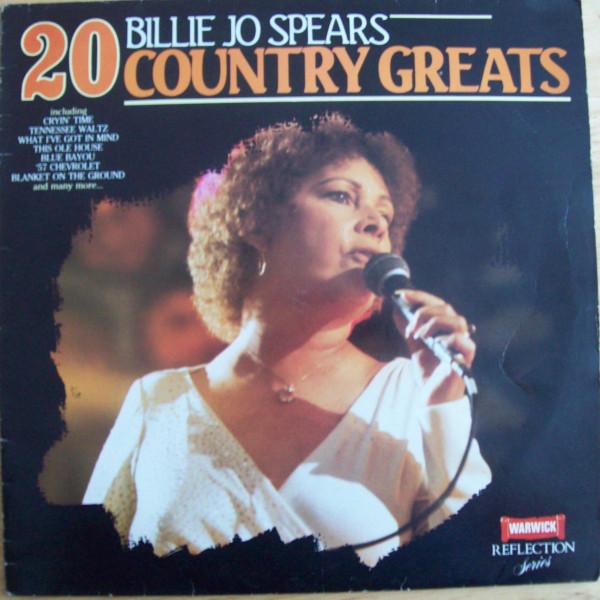 Spears, Billie Jo 20 Country Greats Vinyl