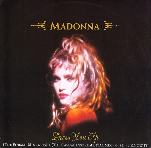 Madonna Dress You Up Vinyl
