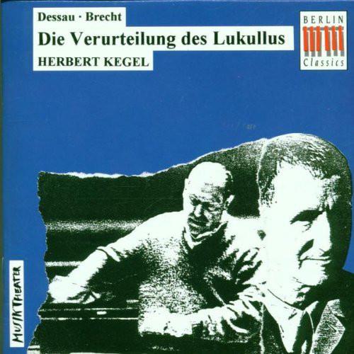 Dessau - Brecht, Herbert Kegel Die Verurteilung Des Lukullus
