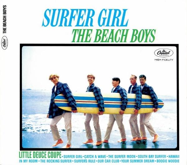 The Beach Boys Surfer Girl  CD