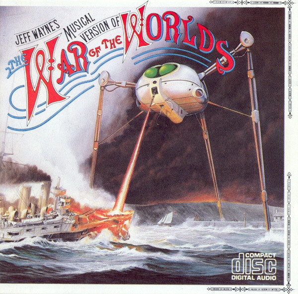 Wayne, Jeff The War Of The Worlds CD