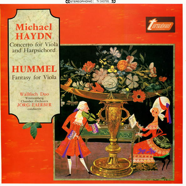 Haydn / Hummel - Walfisch Duo, Jorg Faerber Concerto for Viola and Harpsichord / Fantasy for Viola Vinyl