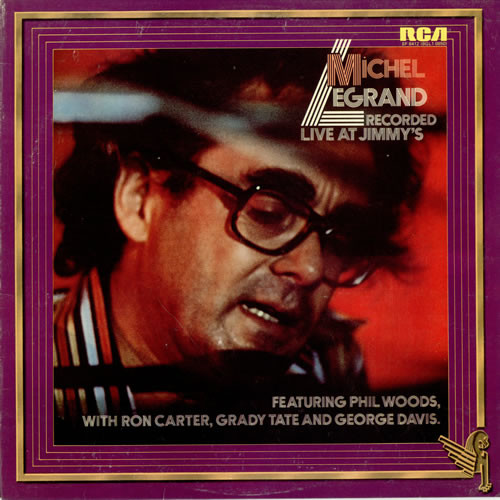 Legrand, Michel Recorded Live At Jimmy's  Vinyl