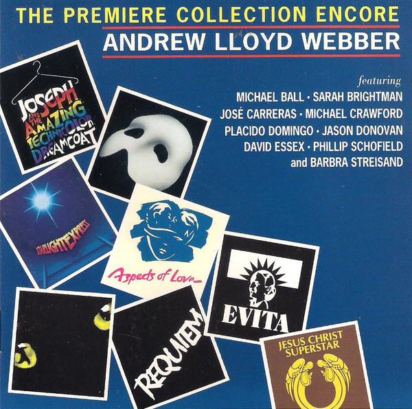 Webber, Andrew Lloyd The Premiere Collection Encore Vinyl