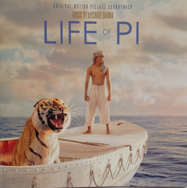 Mychael Danna Life Of Pi: Original Motion Picture Soundtrack CD