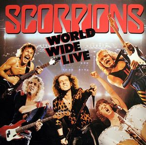 Scorpions World Wide Live Vinyl