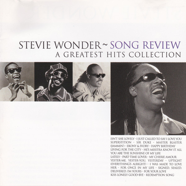 Wonder, Stevie Song Review - A Greatest Hits Collection
