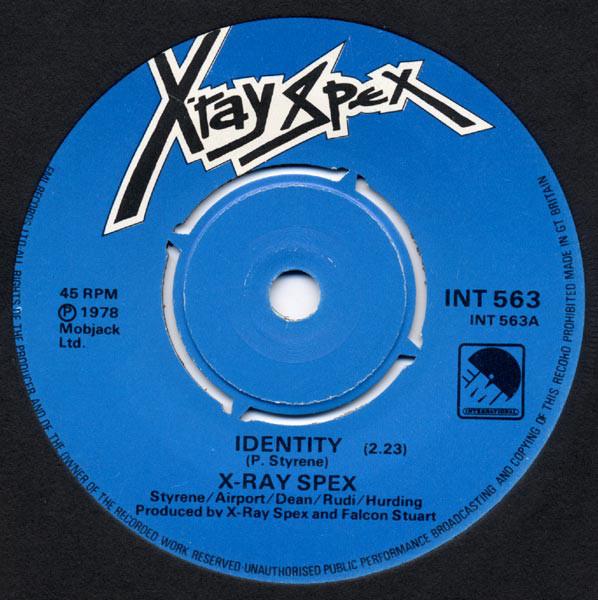 X-Ray Spex Identity