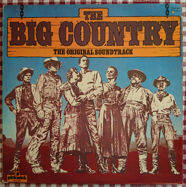 Jerome Moross The Big Country (The Original Soundtrack)  Vinyl