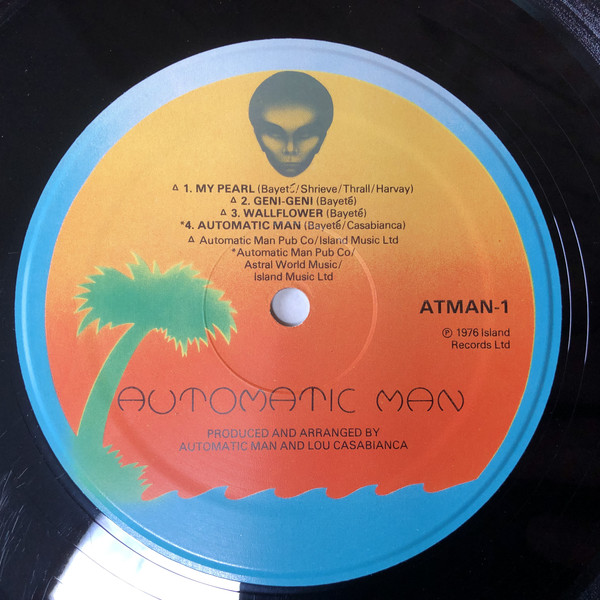 Automatic Man My Pearl Vinyl