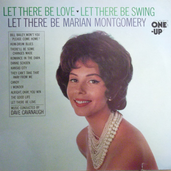 Montgomery, Marian Let There Be Love, Let There Be Swing, Let There Be marian Montgomery Vinyl