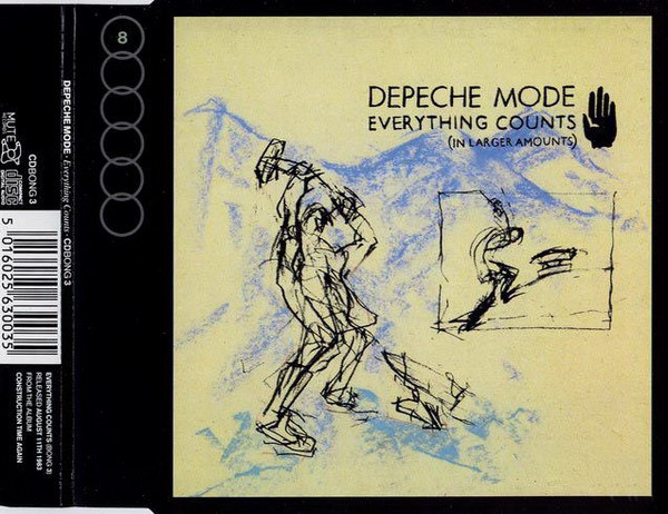 Depeche Mode Everything Counts CD