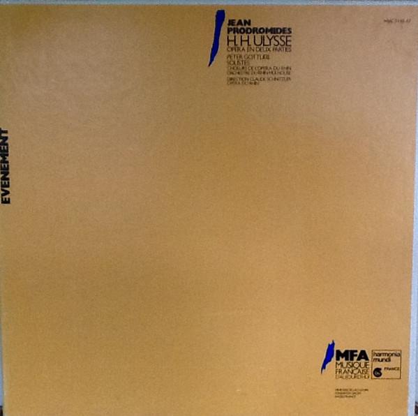 Prodromides - Peter Gottlieb, Claude Schnitzler H.H. Ulysse Vinyl
