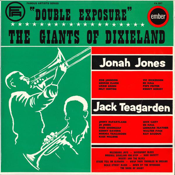 Jonah Jones Band / Jack Teagarden Band Double Exposure Vinyl