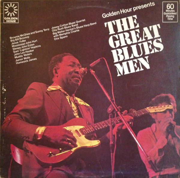 Various Golden Hour Presents The Great Blues Men