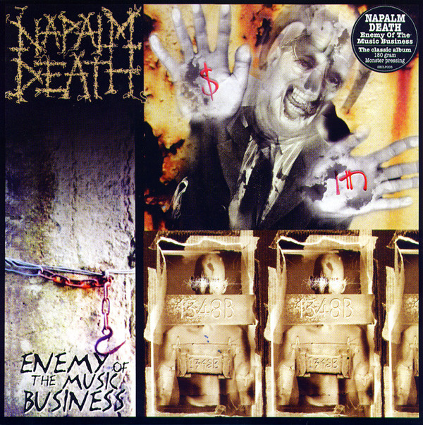 Napalm Death Enemy Of The Music Business Vinyl