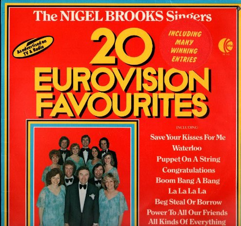 The Nigel Brooks Singers  20 Eurovision Favourites Vinyl