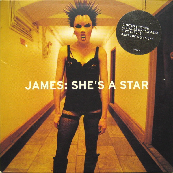 James She's A Star Vinyl