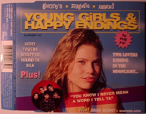 Gorky's Zygotic Mynci Young Girls & Happy Endings CD