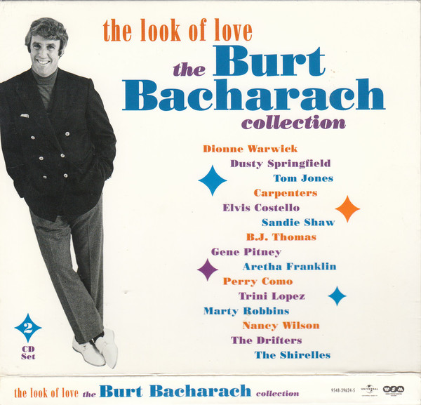 Bacharach, Burt The Look Of Love - The Burt Bacharach Collection CD