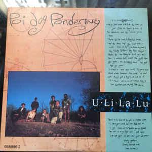 Poi Dog Pondering U Li La Lu Vinyl
