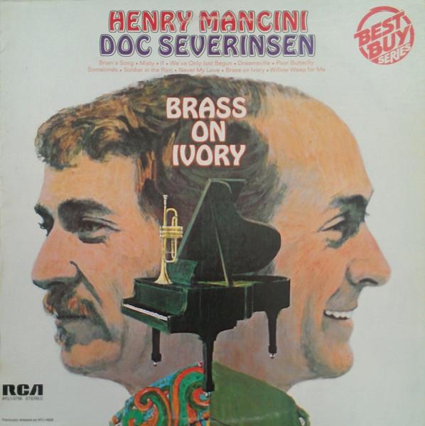 Henry Mancini & Doc Severinsen Brass On Ivory Vinyl