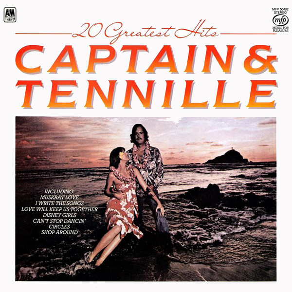 Captain & Tennille Greatest Hits Vinyl