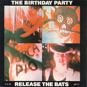 The Birthday Party Release The Bats Vinyl