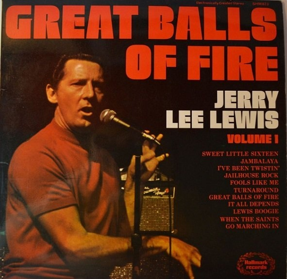 Lewis, Jerry Lee Great Balls Of Fire
