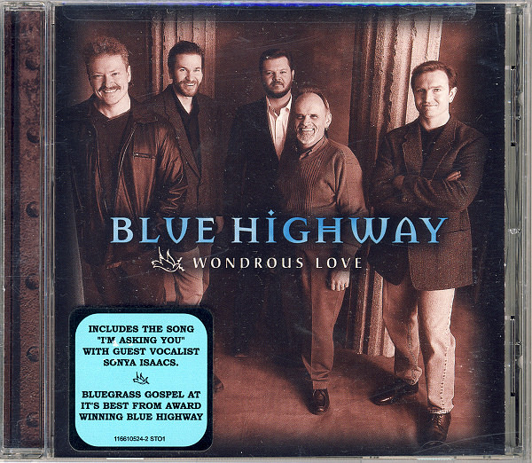 Blue Highway Wondrous Love CD