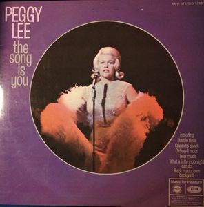 Lee, Peggy The Song Is You Vinyl