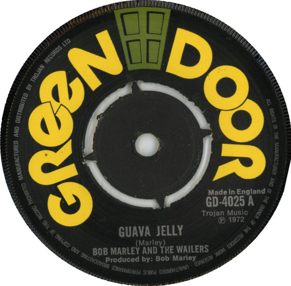 Bob Marley And The Wailers Guava Jelly Vinyl