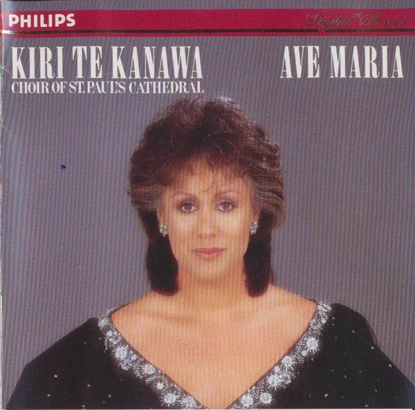 Kanawa, Kiri Te Ave Maria CD