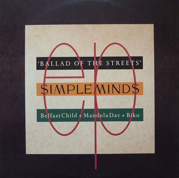 Simple Minds Ballad Of The Streets