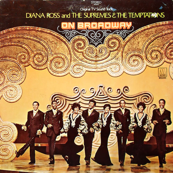 Diana Ross And The Supremes & The Temptations On Broadway Vinyl