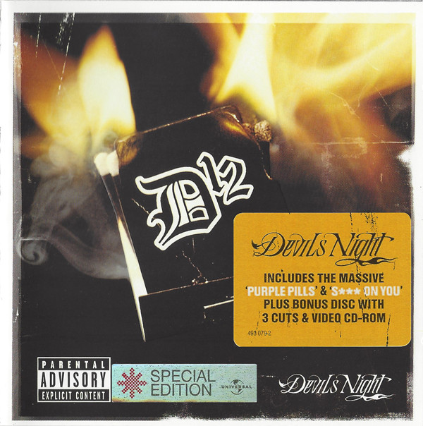 D12 Devils Night CD