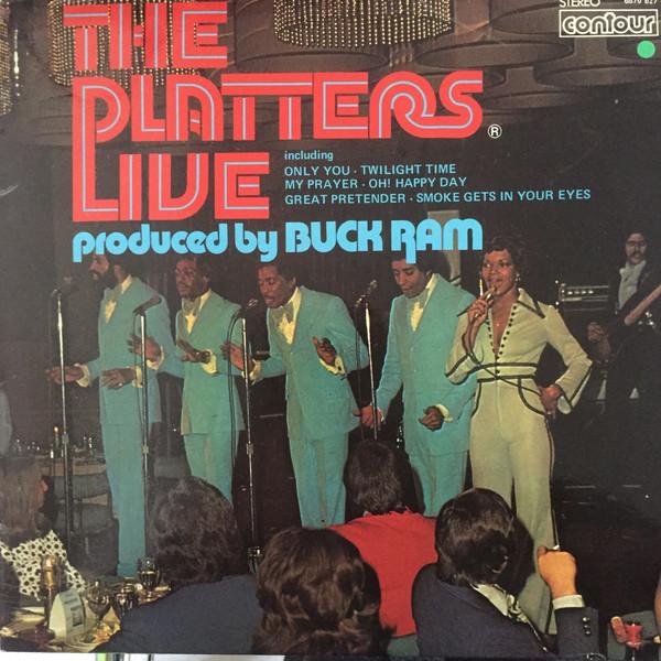 Platters (The) The Platters Live Vinyl
