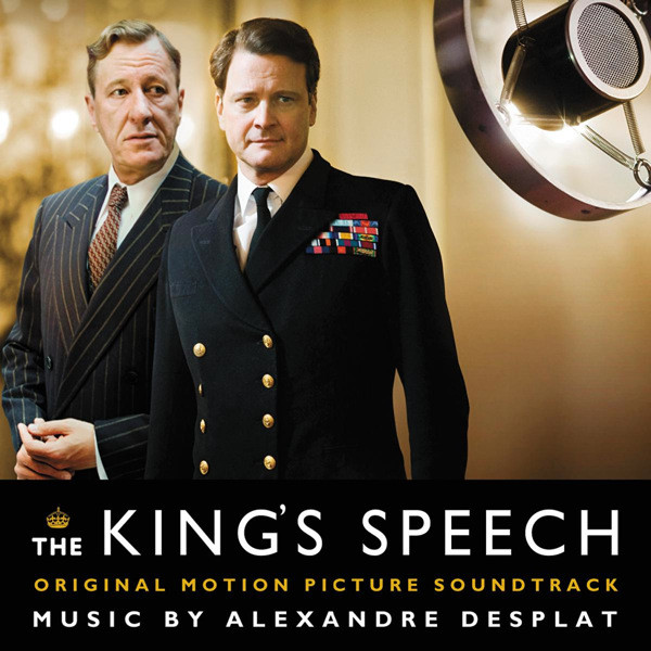 Alexandre Desplat The King's Speech CD