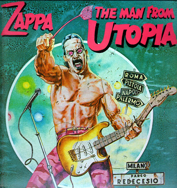 Zappa Frank The Man From Utopia