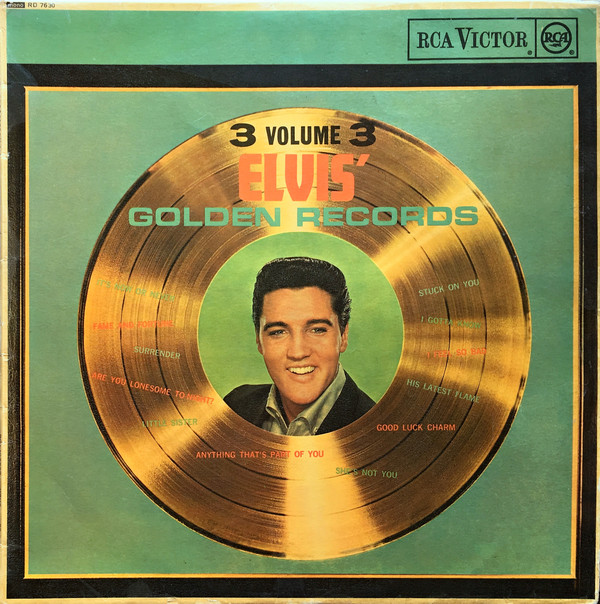 Presley, Elvis Elvis' Golden Records Vol 3 Vinyl