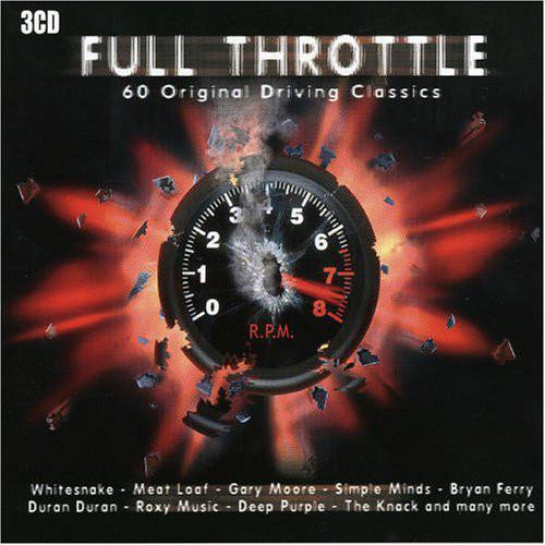 Various Full Throttle: 60 Original Driving Classics Vinyl